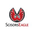 Scisors Eagle  logo