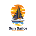 Sun Sailor  logo