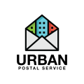 城市郵政服務Logo