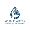鯨魚水Logo