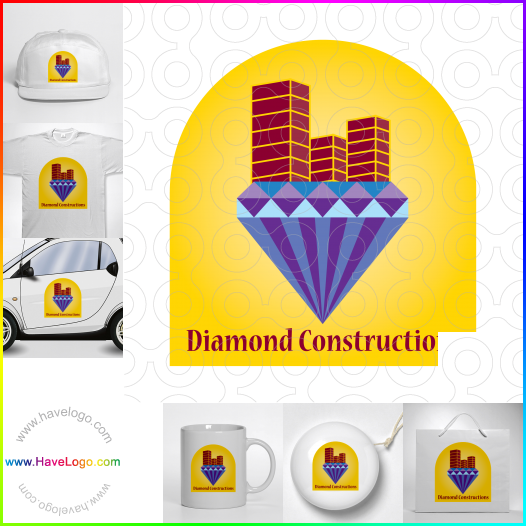 鉆石logo設計 - ID:17605
