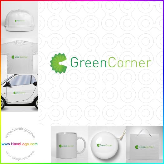綠色logo設計 - ID:359