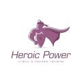 英雄的力量Logo