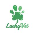 Lucky Vet  logo