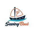 Sewing Boat  logo