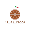 牛排披薩Logo