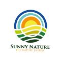陽光明媚的自然Logo