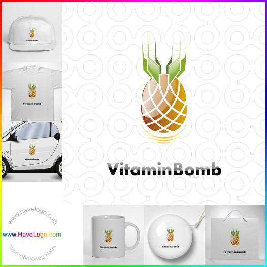 fresh fruit logo - ID:46243