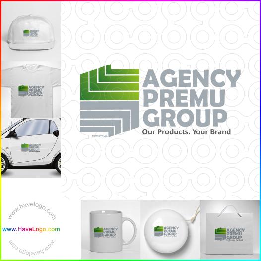 綠色logo設計 - ID:17496