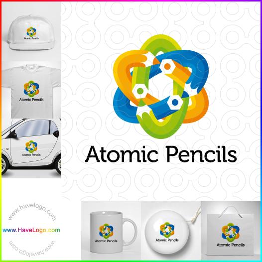 原子logo設計 - ID:35520
