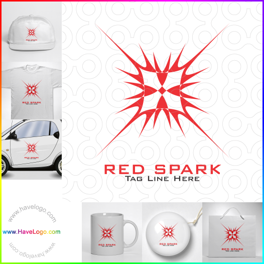 red logo - ID:17584
