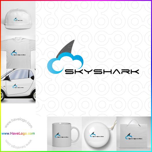 鯊魚logo設計 - ID:35354