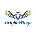 明亮的翅膀Logo