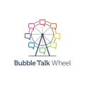 Bubble Talk Wheel  logo