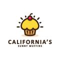 加利福尼亞州的Sunny MuffinsLogo