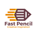 Fast Pencil  logo