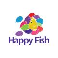 快樂的魚Logo