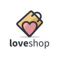 Love Shop  logo