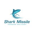 鯊魚導彈Logo