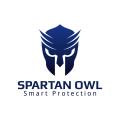 斯巴達的貓頭鷹Logo