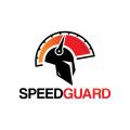 速度保護logo