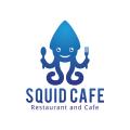 魷魚咖啡Logo