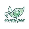 Sweat Pea Care  logo