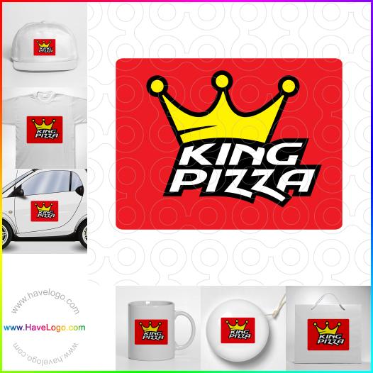比薩餅logo設計 - ID:53014