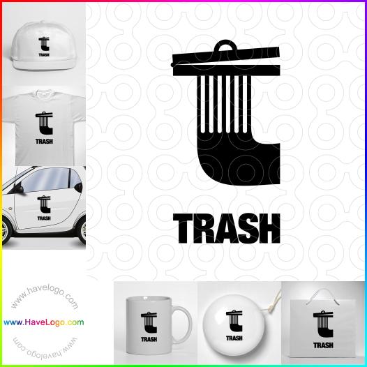 垃圾桶logo設計 - ID:37