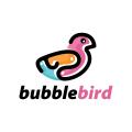泡泡鳥Logo