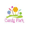 糖果樂園Logo