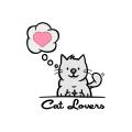 Cat Lovers  logo