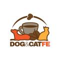 Dog&Catfe  logo