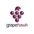 葡萄的鷹Logo