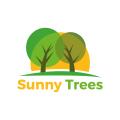 Sunny Trees  logo