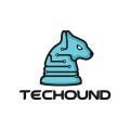 科技獵犬Logo