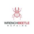 扳手的甲蟲Logo