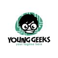 年輕的極客Logo