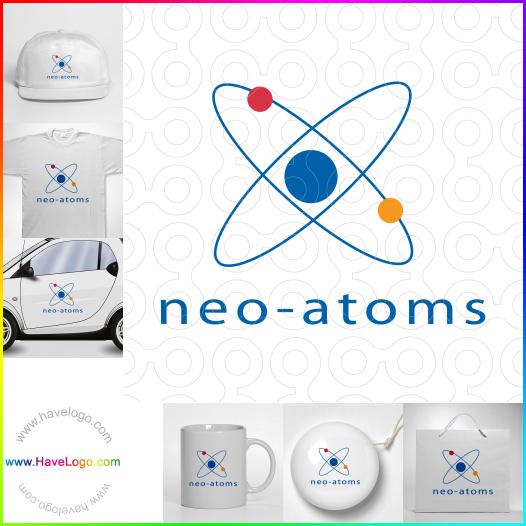 原子logo設計 - ID:181