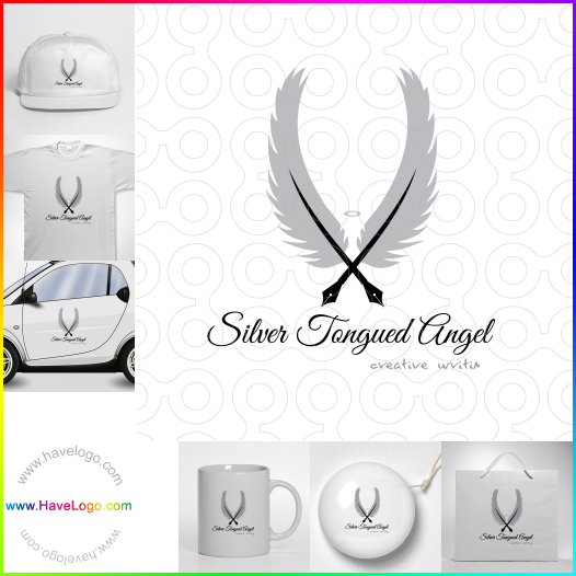 羽毛筆logo - ID:24277
