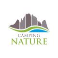 露營自然logo