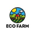 生態農場Logo