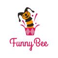 Funny Bee  logo