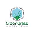 草綠色服務logo