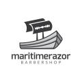 海上的剃刀Logo