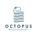 章魚管理Logo