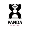 熊貓舞Logo