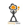 強烈的想法Logo