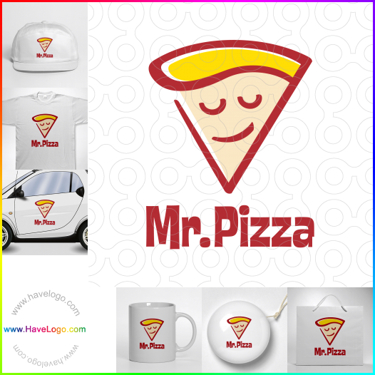italian pizza logo - ID:52844