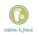 足跡Logo